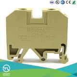 TB de Vacarme-Longeron en acier de vis de taille de fil de l'appareillage électrique 10mm2 de Weidmuller