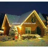 جديدة بسطوع يشعل [رغب] يلوّن ليلة نجوم عيد ميلاد المسيح منظر طبيعيّ [لسر ليغت] وابل [سترّي]