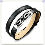 Form-Schmucksache-Leder-Schmucksache-Leder-Armband (LB274)