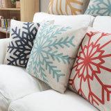 Descansos de Throw brancos da polegada da cópia 14X20 para a decoração dos sofás