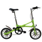 Frame de aço de dobramento da bicicleta/carbono de 18 polegadas mini/frame liga de alumínio/bicicleta de dobramento/única velocidade/velocidade variável