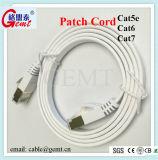 Cable de LAN del cable de la corrección del cable de la red de Cat5e CAT6 Cat7