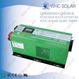 Inversor Sunray puro 3000W de la potencia de la onda de seno con la carga