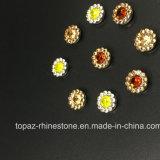 2017 новое и горячее хорошее изготовление Китая количества шьет на кристаллах установки когтя Rhinestone 7mm (кристалл topaz TP-7mm круглый)