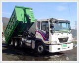 Rullo del caricamento di Sinotruk 371HP 30ton fuori dal camion con Hyva idraulico