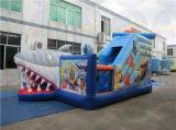 Preiswerter aufblasbarer Spielplatz, riesiges aufblasbares Plättchen, Kind-aufblasbarer Vergnügungspark für Verkäufe