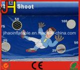 Игра стрельба футбола суда футбола раздувная в счете