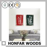 Картинная рамка милого диплома декора искусствоа стены печатание деревянная