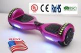 LED Bluetoothのスピーカーが付いている電気自己バランスをとるスクーター