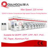 Impresora de alta velocidad automatizada serie del fotograbado de la película plástica de Qdasy-a