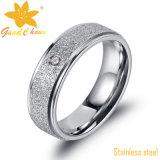 Exsr31 316 a joyería de acero inoxidable anillos del acero pequeños