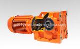 Transmisiones industriales S gusano de la serie de engranajes cilíndricos de motor para Transportadores