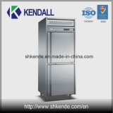 Refrigerador comercial do aço inoxidável de 4 portas para a cozinha