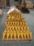 Dientes del compartimiento de los recambios del excavador de Volvo que forjan el lanzamiento para el equipo minero