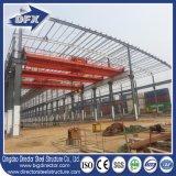 Stahlrahmen-Werkstatt mit Kran-Stahlkonstruktion-Entwurf