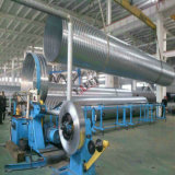 Câmara de ar espiral que dá forma à máquina para o produto de alumínio do duto da folha