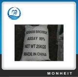 Brometo técnico Nabr do sódio de sal inorgánico 98.5%