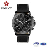 OEM Chronograph Genuine Leather Men Sport Watches