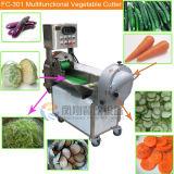 Cortador vegetal de las pistas de la pimienta de la cebolla del pepino de la berenjena doble de Tomatoe/cortador vegetal de múltiples funciones