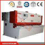 máquina hidráulica del esquileo de la guillotina del fabricante de la máquina QC12y-6X3200 China de la viga hidráulica del oscilación que pela