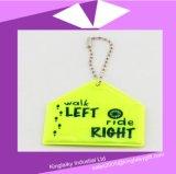 Reflektierende hängende Schlüsselring-/Beutel-Aufhängung für Transport Ksv017-007