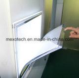Cable de suspensión de cristal LED caja de luz para expositores Salón de la ventana