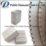 Granit-Marmorsandstein-Andesit-Basalt-Lava-Stein-Ausschnitt-Diamant-Segment