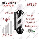 Symbolischer äußerer Acrylherrenfriseur Pole des zylinder-M337