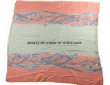 Xaile de acrílico impresso de moda para senhoras (ABF22004020)