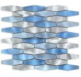 Backspalshのためのブラシをかけられたアルミニウムモザイクストリップの金属のモザイク