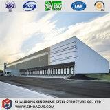 Entrepôt de structure métallique de grande envergure pour la mémoire de médecine