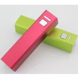 립스틱 배터리 충전기 휴대용 힘 은행 2600mAh
