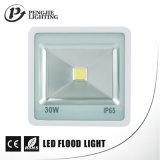 Lampade di inondazione resistenti alla corrosione di fusione sotto pressione dell'alloggiamento di alluminio 30W LED