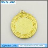 Cadeau fait sur commande de souvenir de pièce de monnaie d'enjeu de médailles en métal de bâti de médaille d'or