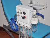 Тип стул портативного зубоврачебного терпеливейшего стула роскошный складчатости