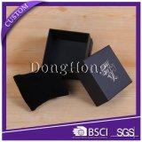 Cajas de regalo rectangulares cuadradas personalizadas con acabados de textura