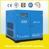 las certificaciones de 90kw 12.3~16.5m3/Min Ce&ISO9001&SGS&TUV inmóviles dirigen el compresor de aire conducido del tornillo hecho en China