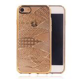 voor het Geval TPU van de Telefoon van de Cel van het Patroon van Phoenix van het iPhone7g 7plus Plateren de Mobiele Toebehoren van de Telefoon (xsdd-074)
