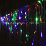 Décoration intérieure Christmas LED Colorful String Icicle Light