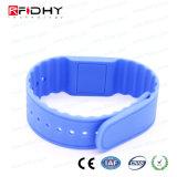 MIFARE mais o Wristband do silicone de X 4k RFID NFC