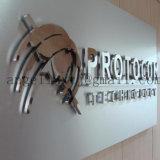 Le numéro de chambre de hôtel d'acier inoxydable d'usine de la Chine a pu faire d'or, argenté, noir, or de Rose, couleur en bronze
