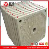 Bon filtre-presse de filtrage de membrane de l'effet pp pour le cambouis
