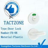 Commercio all'ingrosso Bagno cubicolo Hardware servizi igienici di plastica bianco di ripartizione Set