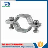 Sustentação de tubulação sanitária do aço inoxidável para os encaixes de tubulação