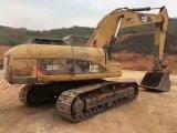 Trattore a cingoli giapponese usato molto buon caldo 329d (macchinario edile dell'escavatore del cingolo idraulico di condizione di lavoro del trattore a cingoli di vendita) per la vendita