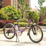 City合金の女性電動機の手段の電池式のE自転車(JB-TDF02Z)