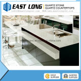 Строительный материал /Quartz дешевого белого сляба камня кварца Starlight каменный