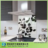 стекло 4mm 5mm Tempered Splashback для кухни