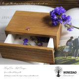 Gift die van de Ambachten van de Gelijke van de Douane van Hongdao de Houten Kleine Box_E glijden