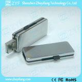 Cubierta de aluminio de diseño deslizante USB Flash Drive (ZYF1118)